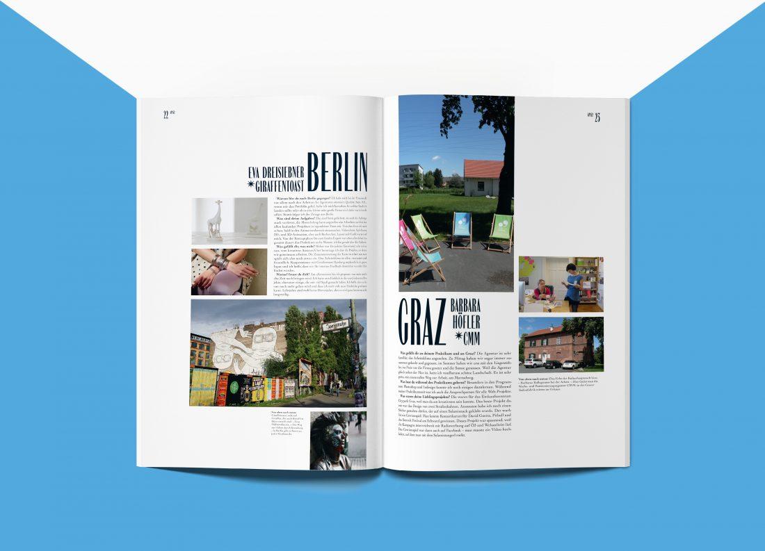 AP152 Magazin Praktikumsberichte