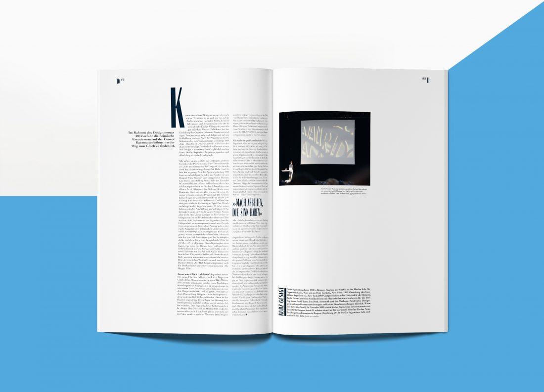 AP152 Magazin Stefan Sagmeister