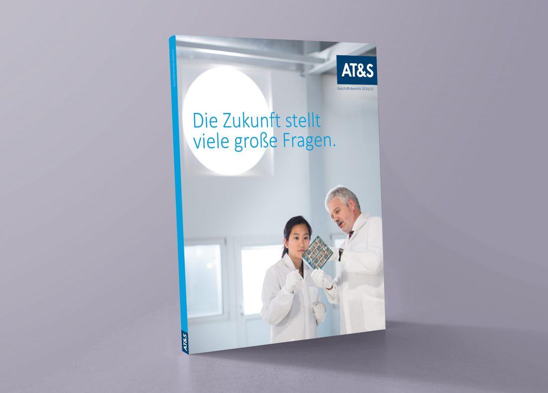 AT&S Geschäftsbericht 2014 Cover