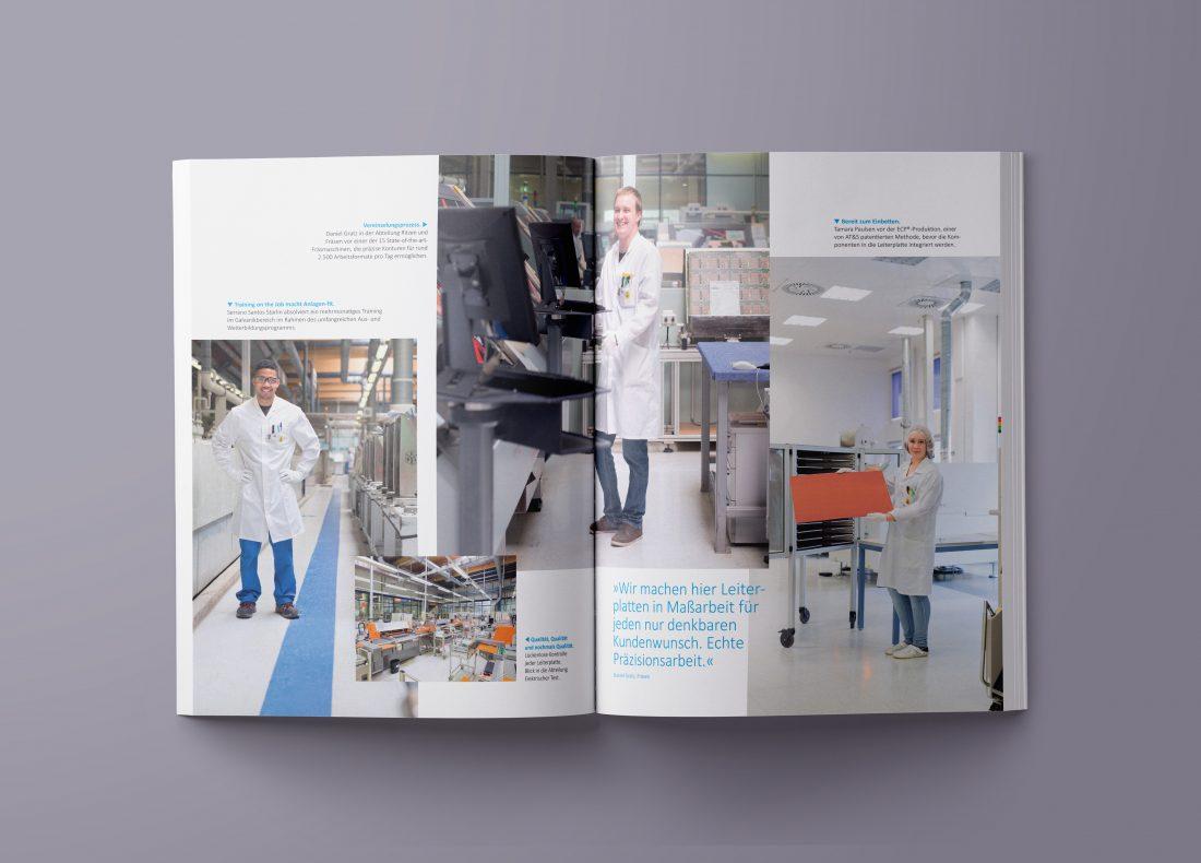 AT&S Geschäftsbericht 2014 Magazin