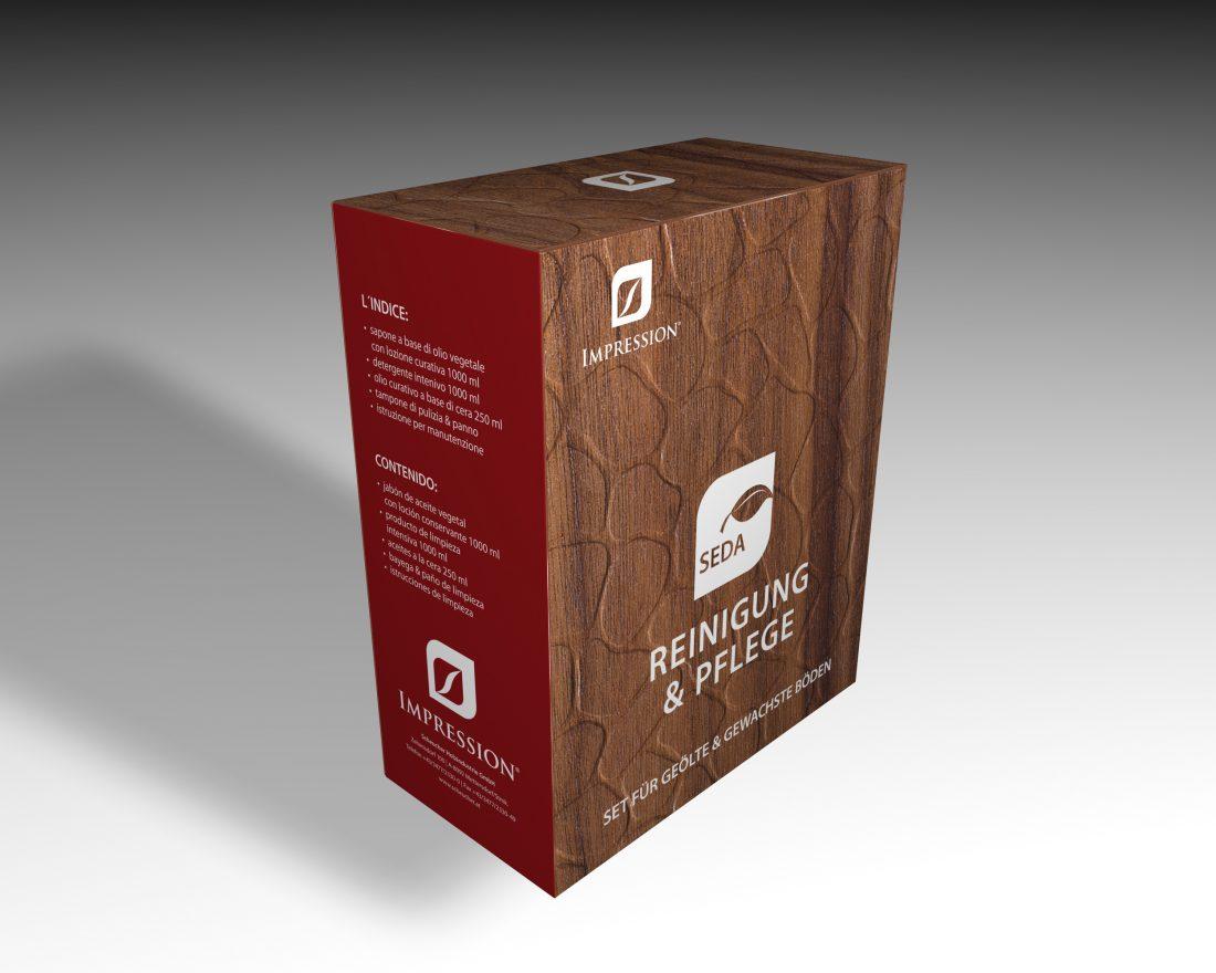 Impression Seda Verpackung