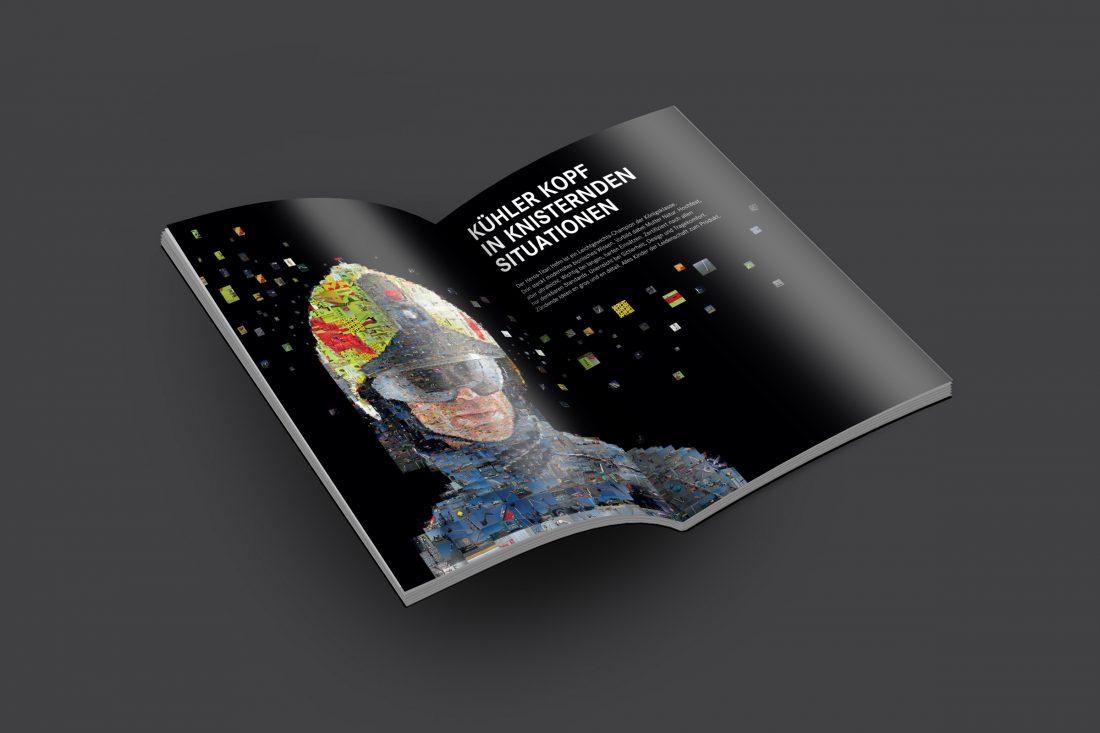 Rosenbauer Geschäftsbericht 2015 Doppelseite