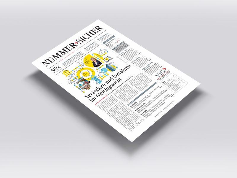 VIG Geschäftsbericht 2015 NummerSicher Cover
