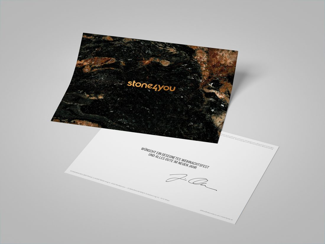 stone4you Weihnachtskarte